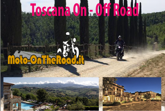 Toscana by Moto on the road